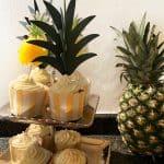 bakemyday glutenfrei Ananas Champagner Cupcakes